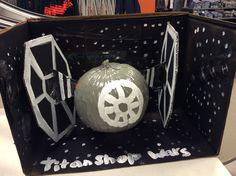 Titan Shops Star Wars Halloween Pumpkin Competition 2015 #TitanShops #CSUF #StarWars #Pumpkin #Halloween #pumpkindecoratingcontest