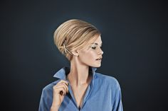 www.esteticamagazine.fr | Photographie : Christian Geisselmann Coiffure : Ghuylaine Moreira Stylisme : Catherine Hebert Maquillage : Magali Pilloux Réalisation : Sandrine Dufils