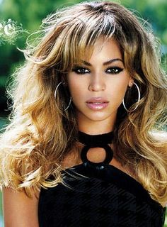 Custom Beyonce Style 100% Human Hair-Sexy Long Wave Brown 20 Inches Lace Wig