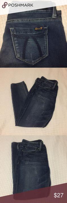 Seven7 Jeans! Size 4 FLASH SALE❣️❣️❣️❣️ Seven7 jeans! Medium wash. Skinny easy fit. Size: 4 Seven7 Jeans Skinny