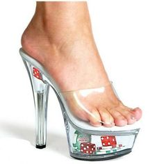These were made for Vegas....and walking across that carpet at the Palace....