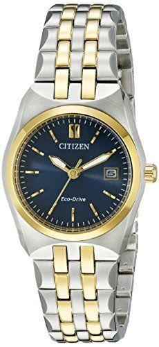 Women's Wrist Watches - Citizen EcoDrive Womens EW229453L Corso Watch ** Click image for more details.
