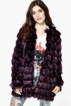 Mystical Faux Fur Coat