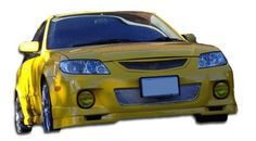 2001-2003 Mazda Protege 4DR Duraflex Speedzone Body Kit - 4 Piece