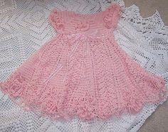Robe rose pour fillette et ses grilles gratuites !                              …