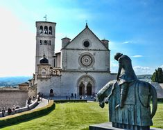 I want to go here.  St. Francis Basilica in Italy.  Breathtaking.