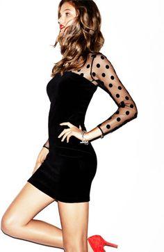 What a pretty little black dress!