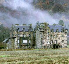 JK Rowlings Scottish mansion