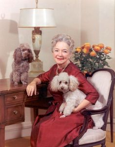 Helen Hayes - legendary actress and animal lover