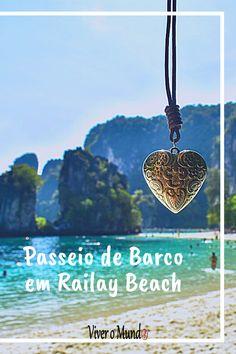 Como fazer um passeio de barco em Railay Beach. Tour. Hong Island. Four Island. Thailand. Tailândia. Tou privado em Railay Beach. Railay Beach, Tours, Dark Cloud, The Titanic Film, Boating, World