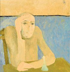 The Philosopher - Constantin Piliuta Post Impressionism, Impressionist, Georges Seurat, Mural Painting, Paintings, Paul Cezanne, Art Database, Vincent Van Gogh, Metropolitan Museum
