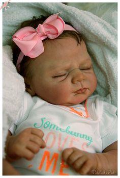CUSTOM Order for Reborn IVY Baby Doll by by BushelandaPeckReborn