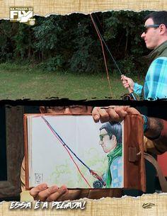 NA PEGADA DO FLY: 5ª TEMPORADA - EPISÓDIO 13 AULA DE FLY FISHING COM THIAGO ZANETTI   Kid Ocelos vai contar com a ajuda de Thiago Zanetti para dar uma verdadeira aula de fly fishing. Eles vão mostrar que essa técnica de pescaria não é apenas para fisgar truta. Ao contrário, pode ser utilizada para fisgar desde um lambari até um marlin.  Confira o episódio aqui: http://fii.sh/FlyAulaComThiagoZanetti