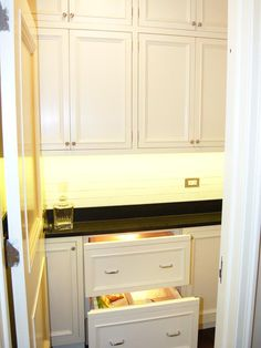 Small Fridge Solution - Small Space Gourmet Kitchen on HGTV