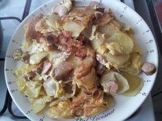 Tortilla pomme de terre (mal retournée forcément) #LesieurSampleo #DuoLesieur #DuoHuileBeurre
