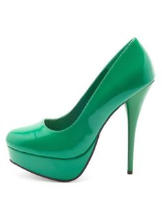 Would so rock this green with jeans & a black or red shirt! Love it!