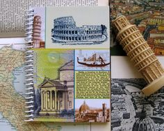 Italy  Spiral Notebook 4 x 6 by Ciaffi on Etsy, $10.00