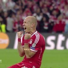 Arjen #Robben vs Dortmund