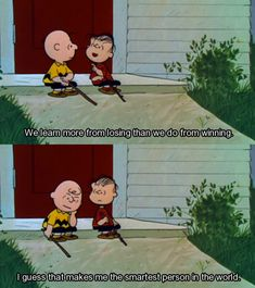 Charlie Brown is my hero!