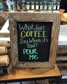 What does coffee say when it's sad?  by Frank Gruber http://flic.kr/p/DogMYw