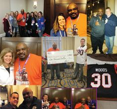Ickey Woods attended the Window Genie annual convention as a guest speaker in January 2015 in New Orleans