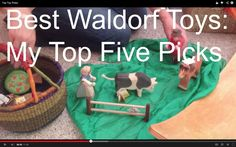 Sarah Baldwin, a Waldorf early childhood teacher, author, and owner of Bella Luna Toys, shares her top five picks of the best Waldorf toys for young children. School Play, Tot School, Montessori Activities, Activities For Kids, Preschool Learning, Waldorf Kindergarten, Waldorf Toys, Waldorf Crafts, Diy Gifts For Kids