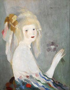 Head of a Women, Marie Laurencin