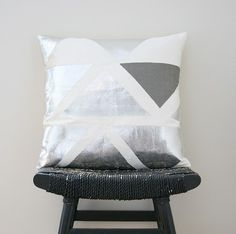 Triangle cushion by Be Still Shop