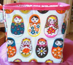 russian doll storage box by Joyful Lova, via Flickr