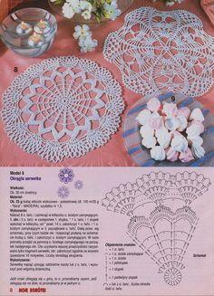 World crochet: Motive 58 Crochet Doily Rug, Crochet Doily Diagram, Crochet Dollies, Crochet Mandala Pattern, Crochet Doily Patterns, Crochet Tablecloth, Crochet Chart, Crochet Home, Thread Crochet
