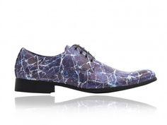 Marmer Schoenen Blauw Heren