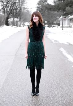 What I Wore | Holiday Bliss, Jessica Quirk, Leluxe Vintage, whatiwore.tumblr.com