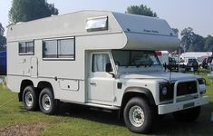 Land Rover camper motorhome for adventure,. Landrover Camper, Defender Camper, Off Road Camper, Camper Caravan, Land Rover Defender 110, Truck Camper, Camper Van, 6x6 Truck, Landrover Defender