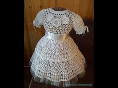 Crochet Patterns| for free |crochet baby dress| 1432