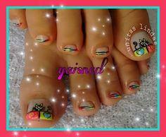 Academia, Nail Designs, Nails, Short Nails, Feet Nails, Shelving Brackets, Nail Manicure, Fingernail Designs, Hearts