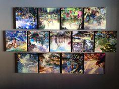 My Thomas Kincade Disney collection