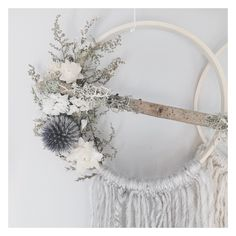Meadow Dreamcatcher // boho wall art // bohemian decor by MeadowandMoss on Etsy https://www.etsy.com/listing/259461862/meadow-dreamcatcher-boho-wall-art
