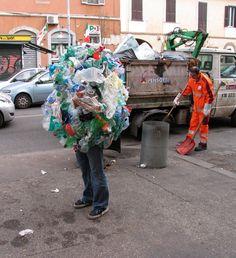 litter bug sweeper Mark Jenkins http://www.xmarkjenkinsx.com/outside.html