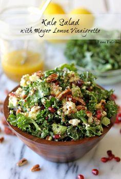 Kale Salad with Meyer Lemon Vinaigrette