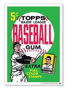 1962 Topps baseball card wrapper