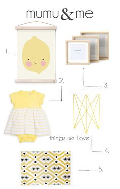 Yellow reminds us of summer and lemonade. Today's Friday Fav's will surely put a smile on your face! We love the combination of yellow, grey, white and light wood. This will give a soft and happy feel to any baby's nursery and can be used for a boy or girl. These boxed frames from Woolies...