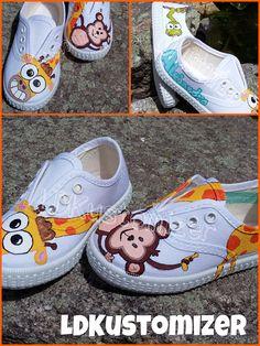 #shoes #zapas #animals #giraffe #jungle #LDKustomizer