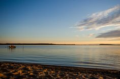 Coucher de soleil sur le Lac Macamic Sun, Celestial, Beach, Water, Outdoor, Gripe Water, Outdoors, The Beach, Beaches