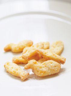Craquelins au fromage Type Goldfish au cheddar