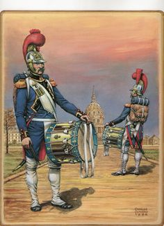 French; Imperial Guard, Engineers, Drummers