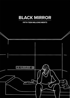 Black Mirror, Fifteen Million Merits Shows On Netflix, Netflix Series, Series Movies, Movies And Tv Shows, The Walking Dead, Sci Fi Series, Tv Series, Poster Series, Disney Channel