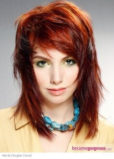 Love the color... love the cut... but I don't think I could pull it off...