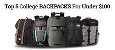 Browse through our list and find one the best backpacks for #college, school or commute!