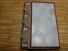 Verpackung für Tee, Stampin Up Besonderes Designerpapier Winterfreuden