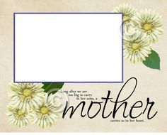 Printable Do it Yourself 8X10 Mother by SapphireCustomPhotos, $5.25